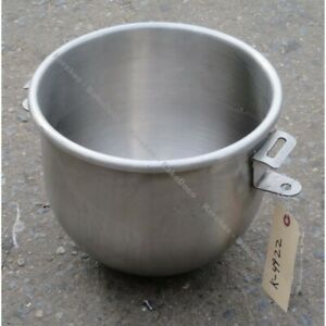 Hobart 00 295644 12 Quart Bowl To Fit A200 Mixer Used Excellent Condition