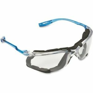 3m Virtua Ccs Safety Glasses With Blue Temples Foam Clear Anti fog Lenses