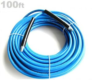 Carpet Cleaning 100ft Truck mount High Pressure Solution Hose 275 Degree