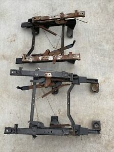 92 97 Ford Obs Truck Bucket Seat Frame Mounting Brackets Tracks Extended Cab
