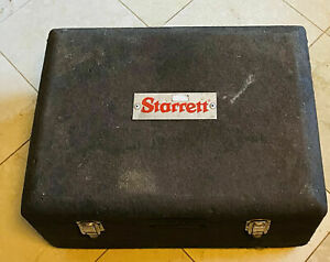 Starrett 436 Outside Micrometer Set 0 To 12 With Hardcase sold As Is