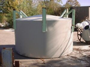 3000 Gallon Cone Bottom Stainless Steel Tank