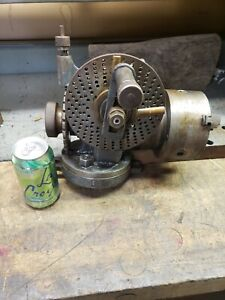 Jefferson Mach Tool Co Indexing dividing Head With 3 Jaw Chuck F 4497