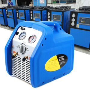 Durable Multiple Modes 110v Portable Refrigerant Recovery Machine Twin Cylinder