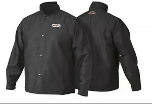 Lincoln Electric K2985 2xl Traditional Fr Cloth Welding Jacket Size Xx large