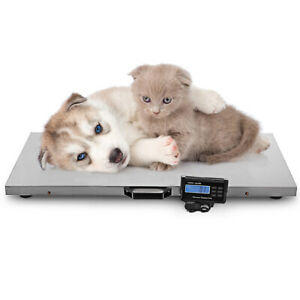 Large Digital Pet Scale Veterinary Animal Weight Pet Dog Cat 500kg 1100lbs