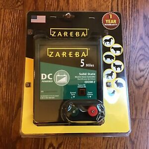 New Zareba 5 Miles Solid State Electric Fence Controller Edc5m z