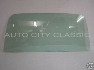 Green Tint Back Glass Chevelle 2 Door Hardtop 1968 1969 1970 1971 1972