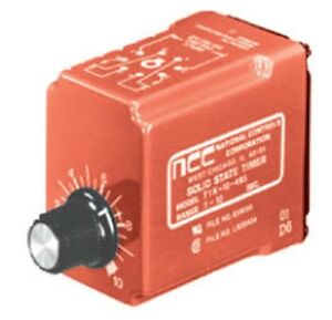 Ncc Timer Time Delay Relay T1k 00600 467