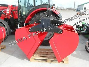 Clamshell Bucket Rotator Dredging Material Bucket icm 1 3cuyd Bolt on Edge