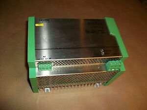 Phoenix Contact 24vdc Power Supply Px 3x207ac 24dc 30 f 30amp