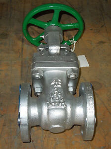 2 150 Rf Flanged Steel Wcb Gate Valve Factory New