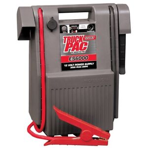 Portable Battery Booster Pac 800 Cranking Amps Soles6000ke Brand New