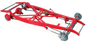 Tci 1932 Ford Ifs 4 Link Show Chassis Polished Stainless Steel
