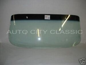 1961 1962 Chev Pontiac Bubble Top Sedan And Wagon Windshield Green Shade Band