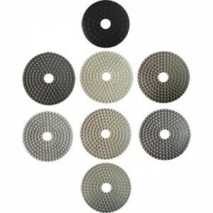 Gamma 4 Inch Wet Pad Set For Engineered Stone