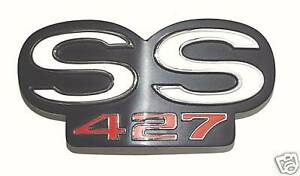 1967 1968 Camaro ss 427 Rs Grille Grill Emblem 67 68