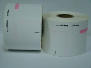 2 Rolls Of Dymo Labelwriter Compatible 30384 2 part Postage Labels 150 P r