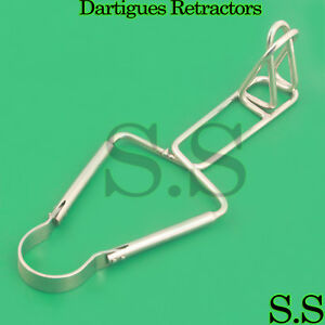 2 Dartigues Retractors Surgical Medical Instruments New