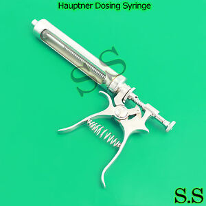 Hauptner Dosing Syringe Veterinary Ranch Farm Livestoc