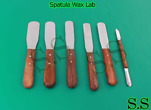 24 Spatula Wax Lab Dental Veterinary Cement Instruments