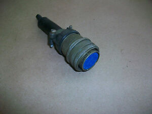 Amphenol Ms Military Connector 9706 Ms3106a20 7s 8 Pole Used