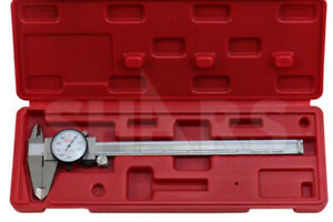 Shars 8 Dial Caliper Shock Proof 001 Stainless 4 Way Inspection Report A
