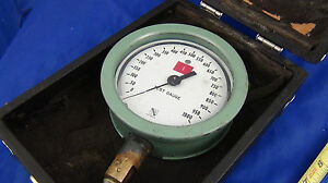 Ashcroft 1850 Precision Test Pressure Gauge 0 1000 Psi