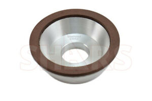 Shars 4 X 1 1 4 Type D11a2 Diamond Flaring Cup Wheel Grinding 150 Grit New
