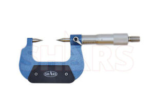 Shars 0 1 30 Point Micrometer 0 0001 Carbide Tipped New