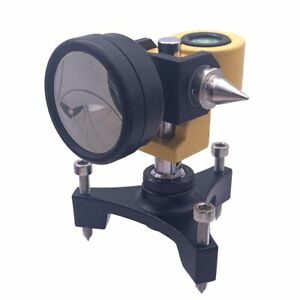 Dia 38 Mini Prism With Three Poles For Total Station