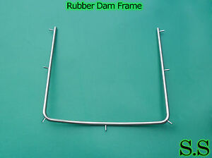 15 Dental Rubber Dam Frame Surgical Instruments Holder