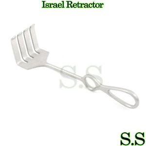 Israel Retractor 4 Prong Orthopedic Surgical Instruments