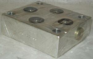 Denison Hydraulics Subplate Adapter Plate Dd063 d05
