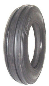 2 New Carlisle 4 00 15 3 rib Front Tractor Tires Tubes