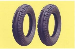 2 New 4 00 15 John Deere Original 3 rib Front Tractor Tires Tubes Made In Usa