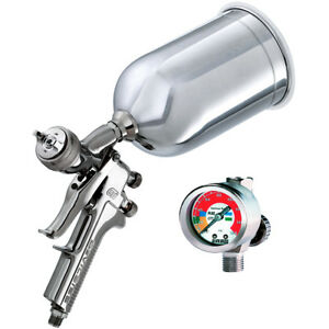 Devilbiss Gti 620g 3in1 Hvlp Base Clear Coat Spray Gun With Free Shipping