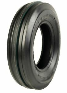 1 New 6 00 16 Crop Max 6 Ply Tubeless 3 rib Front Tractor Tire Cm3104