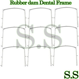 40 Rubber Dam Dental Frame Holder 5 X 5 Surgical Instruments