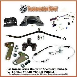2004r 700r4 Transmission Conversion Accessory Package