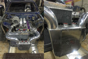 Large Water To Air Intercooler Mitsubishi Dsm Wrx Sti