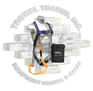 Elk River Harness And Lanyard Fall Protection Kit Cp