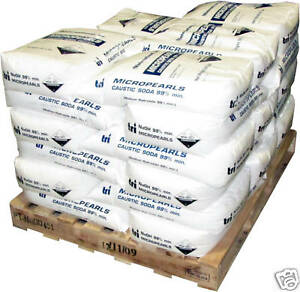 2000 Lb Sodium Hydroxide Caustic Soda Micropearls Naoh 40 X 50 Lb Bags Lye Soap