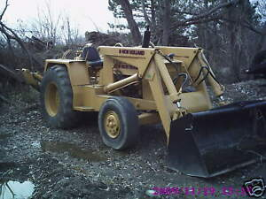Ford Newholland 5500 Tractor Loader Backhoediesel