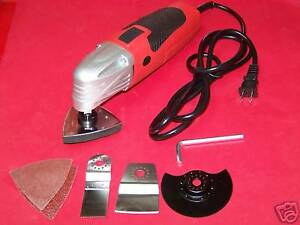 Multi fuction Power Tool Scraper Sander Cutter Slitting Oscillating Tool