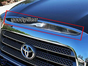 For 07 08 09 Toyota Tundra Chrome Grille Hood Accent Grill