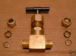 Whitey Swagelok Brass Needle Valve 1 2 B 7rs8 New