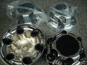 Chevy Gmc Van Pickup 6 Lug Rally Wheel Center Caps New