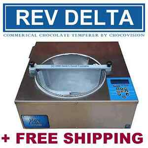 Chocovision Rev Delta Chocolate Tempering Machine Nsf Approved Temperer