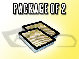 Air Filter Af3472 For Ford Mustang Tempo Mercury Tompaz Package Of Two